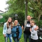 Nobby, Beate, Tanja, Tamara